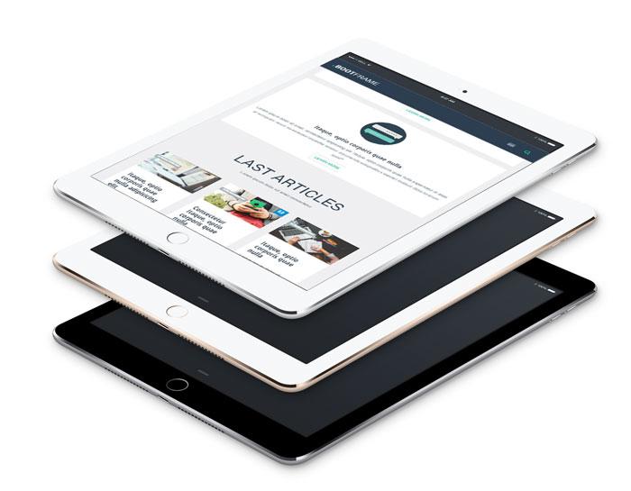 BootFrame iPad